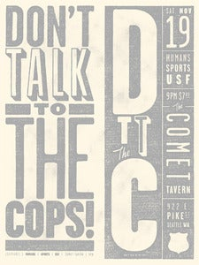 Image of Don't Talk to the Cops!