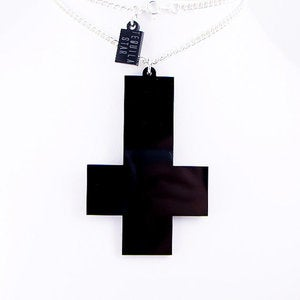 Image of OVERSIZED Inverted Cross Necklace