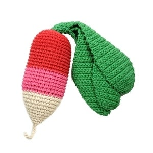 Image of Hand Crocheted Radish