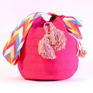 Image of Simple Mochila: Bright Pink