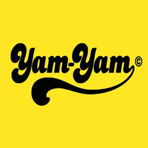 Image of Retro Yam Yam Design - Gold/Yellow, available as Tee Shirt and Poster
