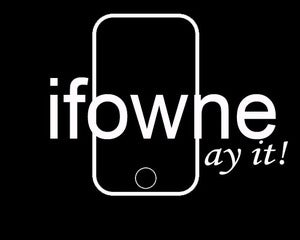 Image of ifowne ay it! design - available as Tee Shirt and Poster