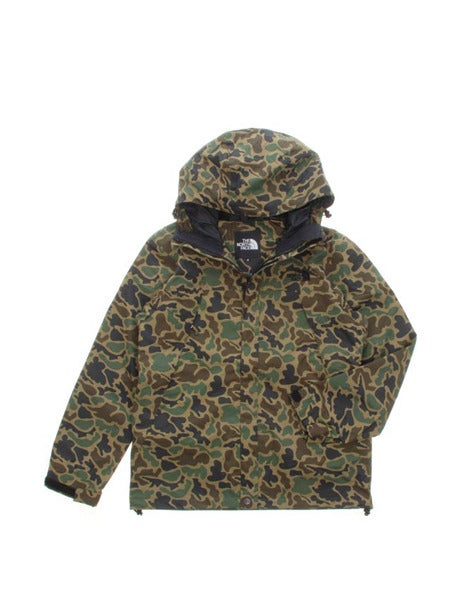 Image of Japanese Northface Camo Scoop