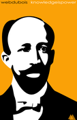 Image of W.E.B. DuBois Tribute Poster