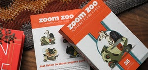 Image of Zoom Zoo Alphabet Flash Cards