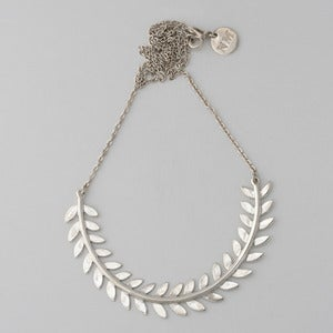Image of Leaf Necklace | Silver