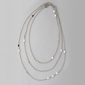 Image of Seed Necklace | Silver