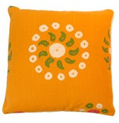 "Image of Marrakech Tangelo Double Sided 22"" Pillow"