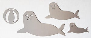 Image of Shatterproof Seal Family Mirrors
