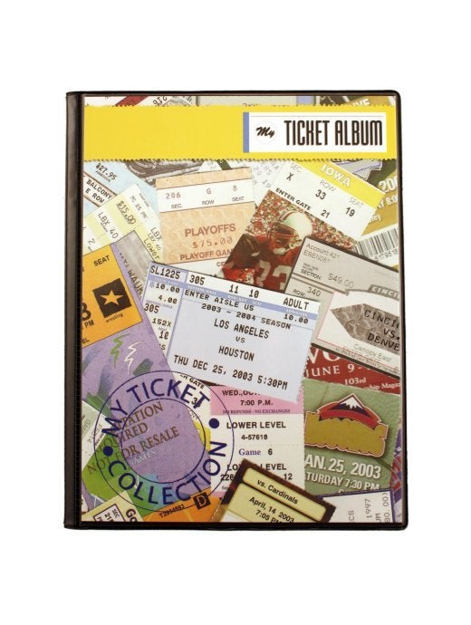Image of Sports Ticket Album