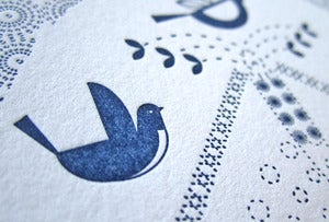 Image of Dutch Birds Letterpress Notecards