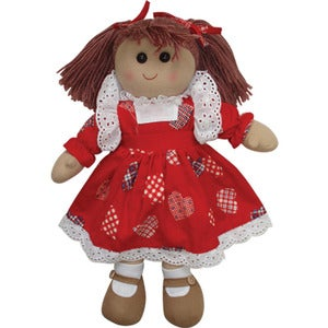 Image of Powell Craft Rag Doll - Red Dress