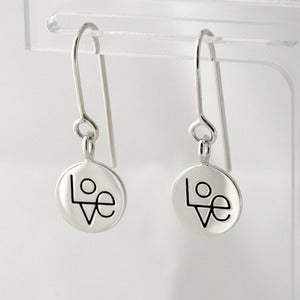 Image of Love Token Earrings | Silver {35% OFF + FREE SHIPPING}