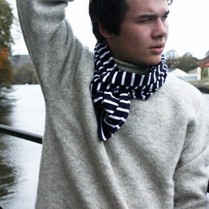 Image of Shetland wool roll neck jumper
