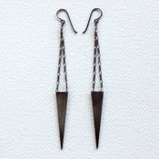 Image of Triangle Spear Dangle Earrings