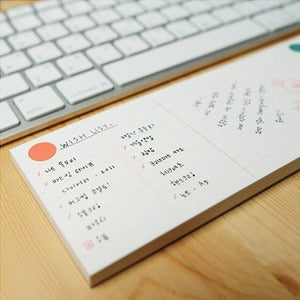 Image of Minio Keyboard Memo Pad