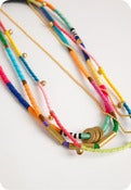 Image of Hand-Knotted Necklace Trio