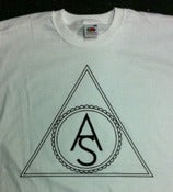 Image of Triangle Logo Shirt - White