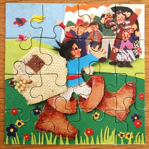 Image of PUZZLE VINTAGE PETIT POUCET REF.830