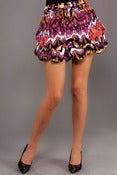 Image of multi colored skirt