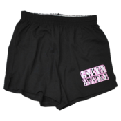 Image of Pink and Black Zebra Cheer Short