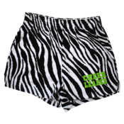 Image of Hot Green Zebra Cheer Short