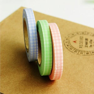 Image of mTape Gingham Washi Set