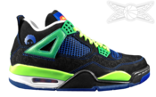Image of Air Jordan 4 Retro Doernbecher
