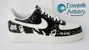 "Image of ""Noir"" Custom Air Force Ones"