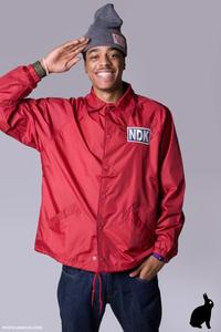 Image of Holiday Collection 11'/ NDK OG Logo Varsity Jacket/ Exclusive 100 Made