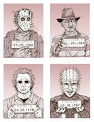 Image of 'Monster MugShots' series one