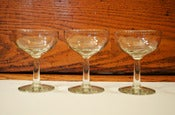 Image of Set of 8 Coupe Glasses
