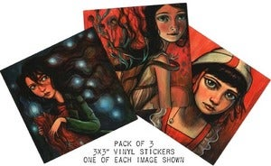 Image of 3 Pack of Stickers