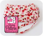 Image of Curvy Clutch PDF Sewing Pattern