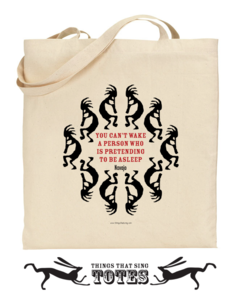 Image of Kokopelli Flute Player TOTE BAG