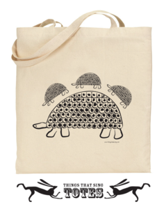 Image of Persian Tortoise TOTE BAG