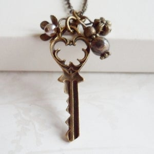 Image of Charmed Key Necklace