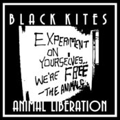 "Image of BLACK KITES ""Animal Liberation"" T-shirt"