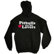 Image of Pit Bulls are for Lovers Hoodie