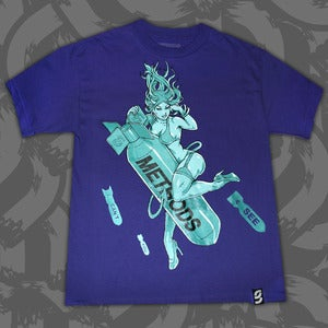 Image of The End Tee Purple