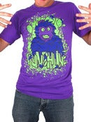 Image of Punchline<br>'Monkey'<br>T-Shirt (Purple)