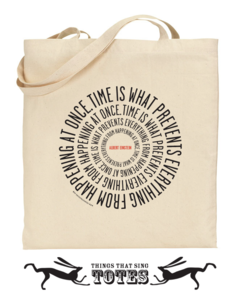 Image of Einstein Time TOTE BAG