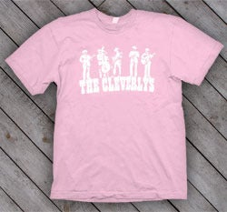 Image of Youth Cleverlys Powder Pink T Shirt