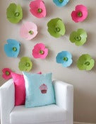 Image of I Love Candy - Paper flower