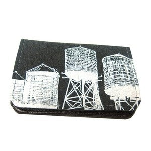 Image of WaterTowers ) Slim Wallet