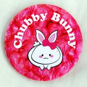 "Image of Chubby Bunny 3"" Button"