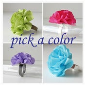Image of pick a color silk ring