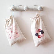 Image of Antique Linen Bags  