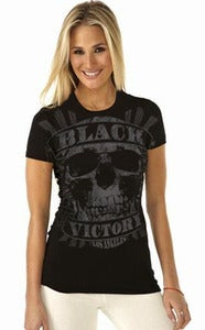 "Image of Black Victory - ""Los Angeles"" GIRLY T"