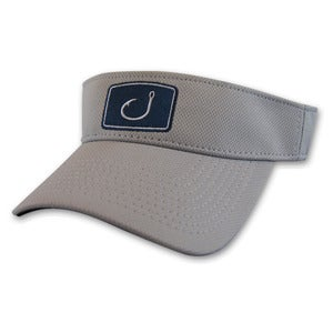 Image of Iconic Fishing Visor - Grey